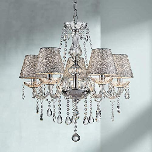 Saint Mossi 5-Lights Crystal Chandelier Light Fixture,Modern Chandelier
