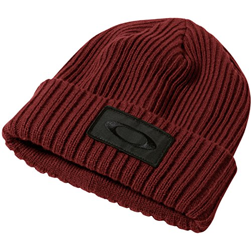 Oakley Men's Dead Tree Cuff Beanie, One Size, Fired - Watchs Oakley