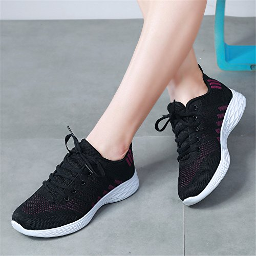 amp;BOY Scarpe porpora Ginnastica Shoes 3 ALI Fitness Nero Donna Sportive da Running Gym Sneakers dwEIFSqn7