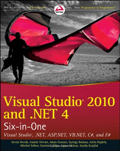 [PDF] Visual Studio 2010 and .NET 4 Six-in-One Free Download | Publisher : Wrox | Category : Computers & Internet | ISBN 10 : 0470499486 | ISBN 13 : 9780470499481