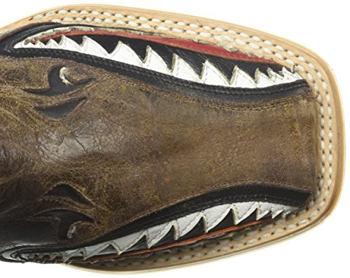 Pictures of Tin Haul Shoes Boys' Sharky Western Boot Tan 2 Medium US Little Kid 2