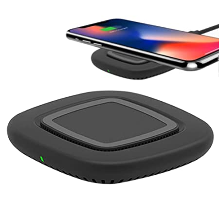 Rikey Cargador inalámbrico Universal para teléfonos móviles ...