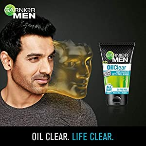 Garnier Men Oil Clear Face Wash, 100G 100Gm