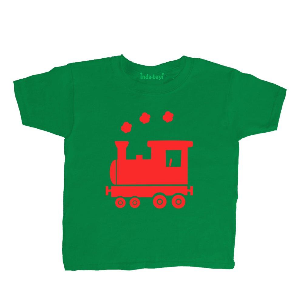 Inda-Bayi Baby-Toddler-Kids Cotton T Shirt - Train