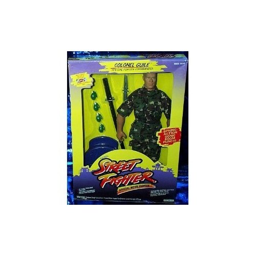 Street Fighter Collectors Edition 12 inch Colonel Guile Action Figure (Iron Brigade Best Weapons)