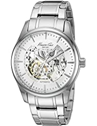 Kenneth Cole New York Mens Automatic Automatic Stainless Steel Dress Watch (Model: 10027200)
