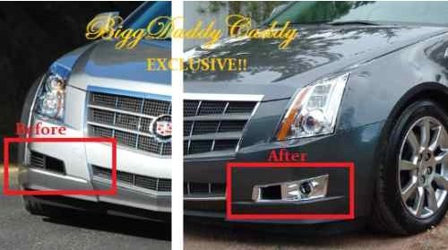 CADILLAC CTS COUPE FOGLIGHT PACKAGE