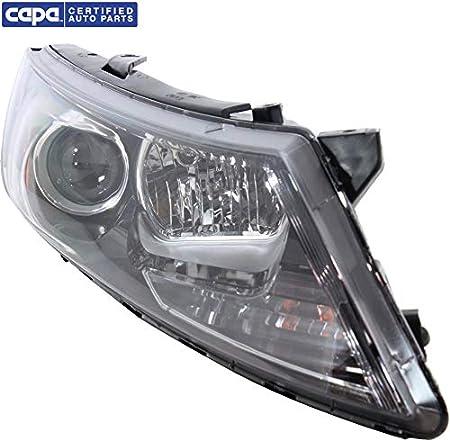 Right Passenger Side Bumper Reflector Compatible with 2011-2013 Kia Optima