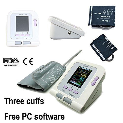 Neonatal Cuffs (FDA Approved Fully Automatic Upper Arm Blood Pressure Monitor 3 mode 3 cuffs Electronic Sphygmomanometer)