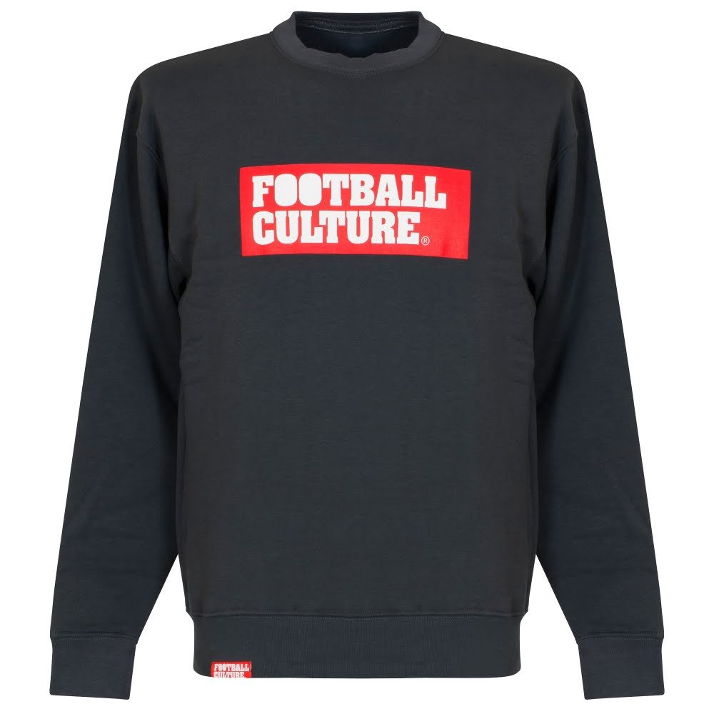 Football Culture Boxlogo Crew Neck Sweatshirt - dunkelgrau