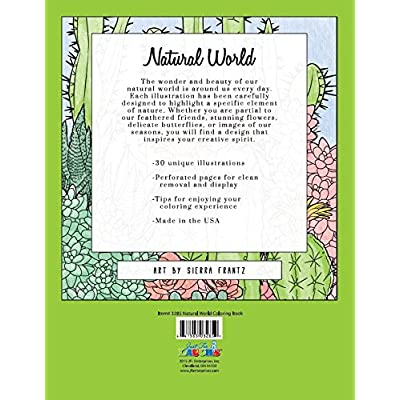 Just for Laughs Natural World Adult Coloring Book: Everything Else