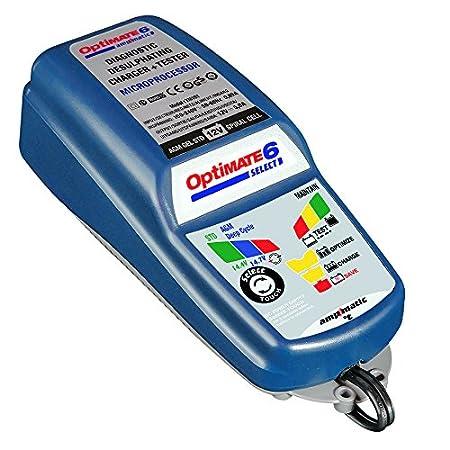 TecMate OptiMATE 7 Select TM250, 9-stufiges 10-A-Batterieladegerä t fü r 12V-Starter- und Deep-Cycle-Batterien