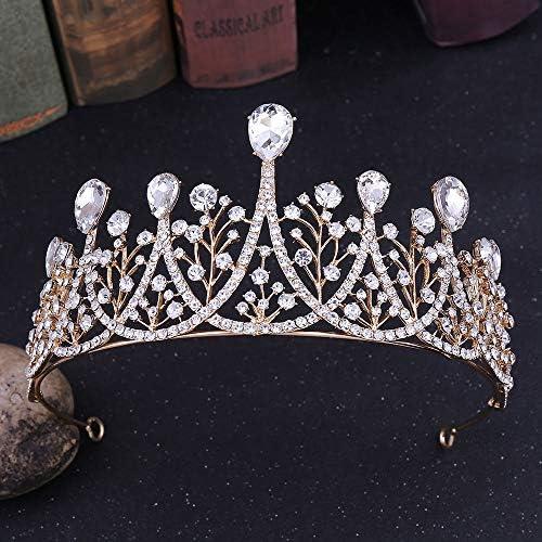 Stunning Crystal Luxury Wedding Bridal Party //Pageant Prom Tiara Crown UK 051