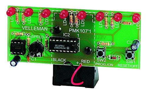 VELLEMAN – MK107 LED-looplicht, mini-kit 840016