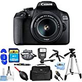 Canon EOS 1500D/Rebel T7 DSLR Camera with EF-S 18-55mm f/3.5-5.6 IS II Lens [International Version] (Pro Bundle)