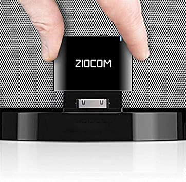 Amazon Com Ziocom 30 Pin Bluetooth Adapter Receiver For Iphone Ipod Bose Sounddock And Other 30 Pin Dock Speakers With 3 5mm Aux Cable Not For Car And Motorcycles Black Electronics