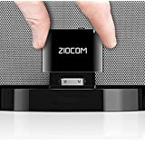 ZIOCOM 30 Pin Bluetooth Adapter Receiver for iPhone iPod Bose SoundDock and Other 30 pin Dock Speakers with 3.5mm Aux Cable(N
