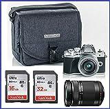 Olympus OM-D E-M10 Mark III (Mark 3) Digital Camera Bundle (14-42mm EZ Silver + 40-150mm Black Lenses, Silver) Review