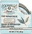 J.R. Watkins Natural Foot Repair Salve, Peppermint, 2.1 Ounce