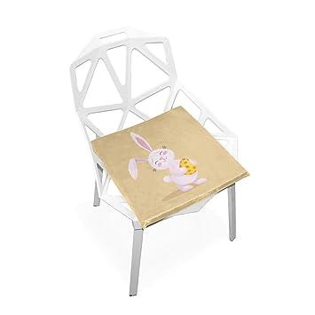 Kawaii Super Lindo Conejo de Dibujos Animados Suave Antideslizante Cuadrado Espuma de Memoria Silla Cojines Asiento