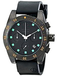 Electric Men's EW0030030020 DW01 PU Band Analog Display Japanese Quartz Black Watch