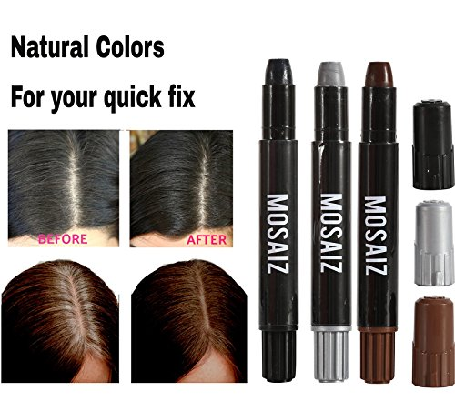 Hair Chalk for Girls and Boys 12 Colors with Black and Brown Washable Temporary Hair Color for Kids, Great Birthday Gift…