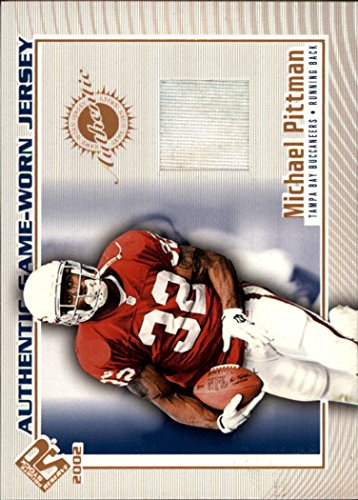 2002 Private Stock Game Worn Jerseys #118 Michael Pittman Jersey