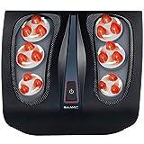 Shiatsu Foot Massager for Plantar Fasciitis - Heated Electric Deep Kneading Foot Massage for Chronic Neuropathy Foot...