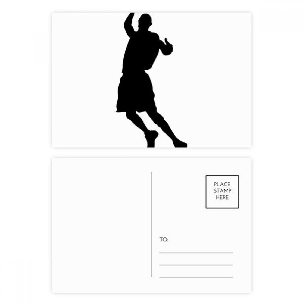 DIYthinker Gracias correr Saltar Deportes Baloncesto tarjetas ...