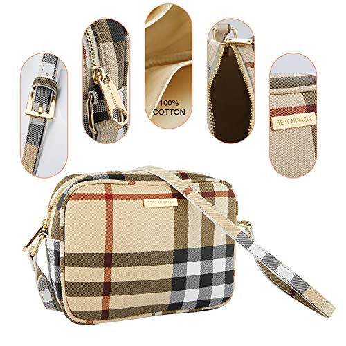 Plaid Sept A Donna Miracle Tracolla Borsa rxvXr