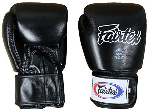 Fairtex Thai Style Training Gloves-16oz.-Black