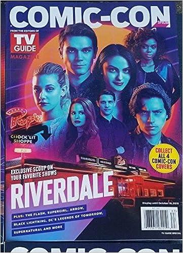 Tv Guide Comic Con Magazine 2018 Riverdale Various Amazoncom Books