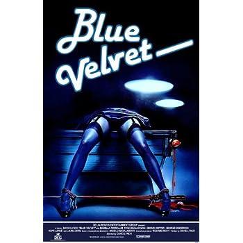 amazoncom blue velvet 27 x 40 movie poster style a