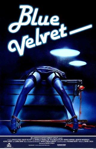 Blue Velvet Poster F Kyle MacLachlan Isabella Rossellini Dennis Hopper