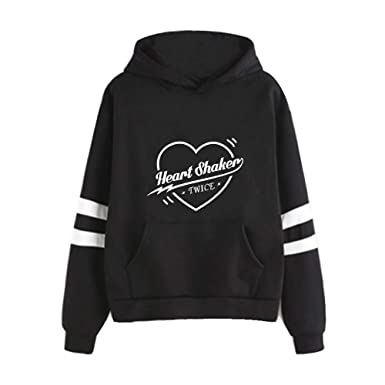 Twice Sudaderas con Capucha Casuales Suéter Estampados para Mujeres y Hombres Jerseys Manga Larga Camisetas Tendencia: Amazon.es: Ropa y accesorios