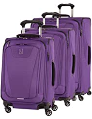 Travelpro Maxlite 4 Expandable Spinner 3 Piece Set (21/25/29), Purple