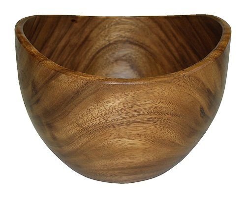 Mountain Woods Organic Artisan Acacia Wood Bowl