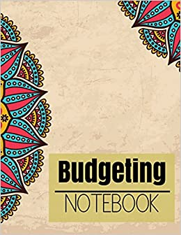 budgeting notebook retro mandala design planner journal notebook
