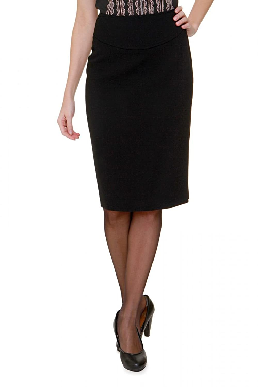 Luisa Spagnoli Pencil Skirt MARIOLA, Color: Black