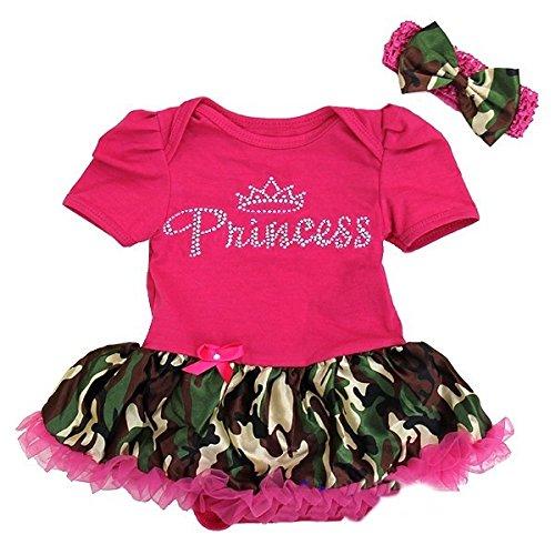 Baby-Rhinestone-Princess-Hot-Pink-Camo-Bodysuit-Tutu-and-Headband