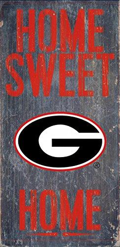 Georgia Bulldogs Wood Sign - Home Sweet Home - Mall Georgia