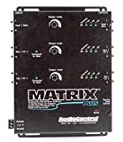AudioControl Matrix Plus Black Six Channel Line Driver with Remote Level Control Input