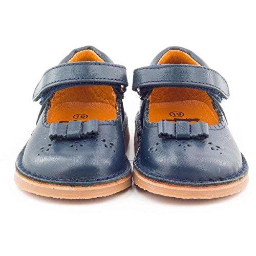 Boni Classic Shoes - Zapatos primeros pasos de Otra Piel para niña azul marino