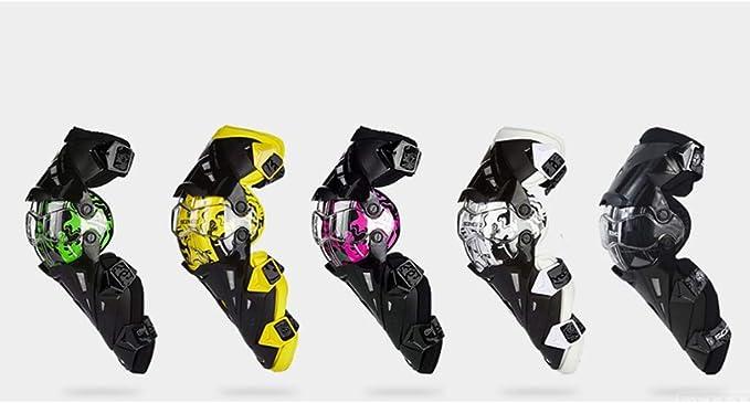 Verde Sharplace Ginocchiere Da Moto Protettive Ginocchia Armatura Gambe per Motocross