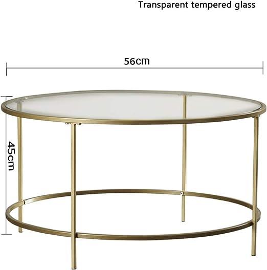 YZZY table basse nordique verre trempé de en d'appoint Table 0wnvmN8
