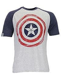 Marvel Avengers Mens Captain America T-Shirt