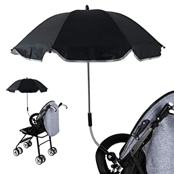 Amazon.com: Universal Baby Stroller UV Protection Umbrella ...