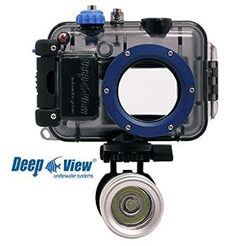 Deep View Carcasa submarina Profunda Vista para cámara Nikon ...
