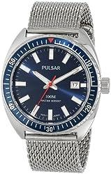 Pulsar Men's PS9229 Analog Display Japanese Quartz Silver Watch