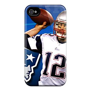 ColtonMorrill Iphone 4/4s Durable Hard Phone Case Allow Personal Design High-definition New England Patriots Image [UTf14607lwMX]